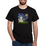 Starry Night / Scottie (w) Dark T-Shirt