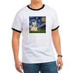 Starry Night / Scottie (w) Ringer T