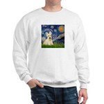 Starry Night / Scottie (w) Sweatshirt