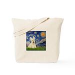 Starry Night / Scottie (w) Tote Bag