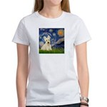 Starry Night / Scottie (w) Women's T-Shirt