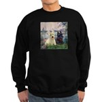 Seine / Scotties (b&w) Sweatshirt (dark)