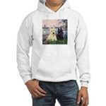 Seine / Scotties (b&w) Hooded Sweatshirt