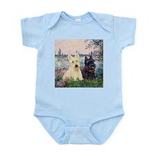 Seine / Scotties (b&w) Infant Bodysuit