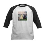 Seine / Scotties (b&w) Kids Baseball Jersey