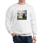 Seine / Scotties (b&w) Sweatshirt