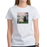 Seine / Scotties (b&w) Women's T-Shirt