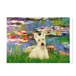 Lilies / Scottie (w) Postcards (Package of 8)