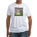 Lilies / Scottie (w) Fitted T-Shirt