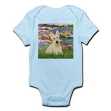 Lilies / Scottie (w) Infant Bodysuit