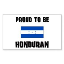 Proud To Be HONDURAN Rectangle Decal
