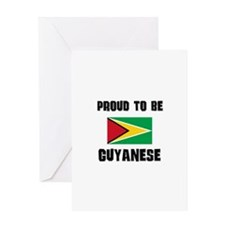 Proud To Be GUYANESE Greeting Card