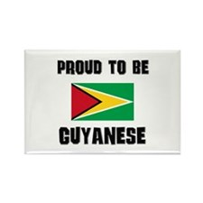 Proud To Be GUYANESE Rectangle Magnet
