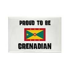 Proud To Be GRENADIAN Rectangle Magnet