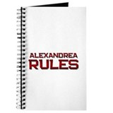 alexandrea rules Journal