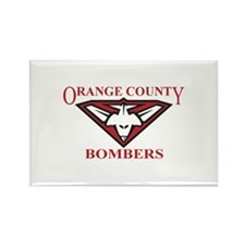 Bombers Rectangle Magnet