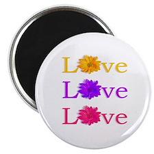 """Love"" 2.25"" Magnet (100 pack)"