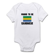 Proud To Be GABONESE Infant Bodysuit