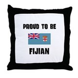Proud To Be FIJIAN Throw Pillow