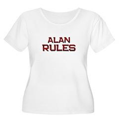 alan rules Women's Plus Size Scoop Neck T-Shirt