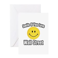 """Smile..Love Wall Street"" Greeting Card"
