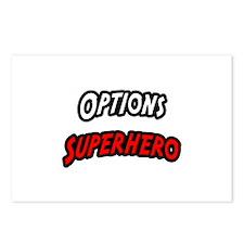 """Options Superhero"" Postcards (Package of 8)"