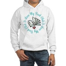 I Love My Book Club Hoodie