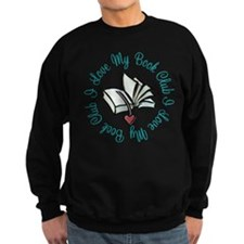 I Love My Book Club Sweatshirt