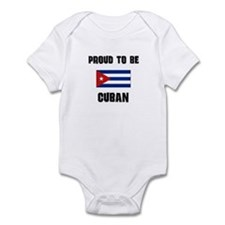 Proud To Be CUBAN Onesie