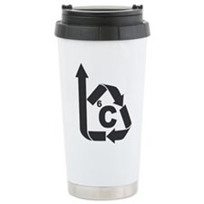 Carbon Cycle Ceramic Travel Mug