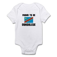Proud To Be CONGOLESE Infant Bodysuit