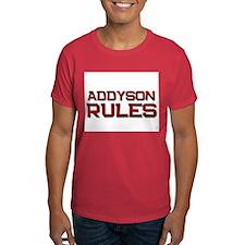 addyson rules T-Shirt