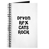 DEVON REX CATS ROCK Journal