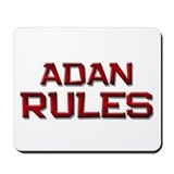 adan rules Mousepad