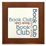 Book Club Multi Text Framed Tile