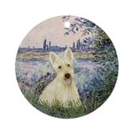 Seine / Scottie (w) Ornament (Round)
