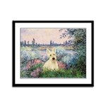 Seine / Scottie (w) Framed Panel Print