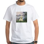 Seine / Scottie (w) White T-Shirt