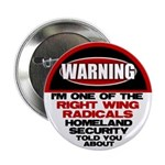 "Right Wing Radical 2.25"" Button"