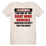 Right Wing Radical Organic Kids T-Shirt