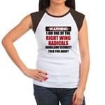 Right Wing Radical Women's Cap Sleeve T-Shirt
