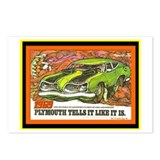 &quot;1969 Barracuda&quot; Postcards (Package of 8)
