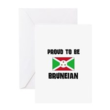 Proud To Be BRUNEIAN Greeting Card
