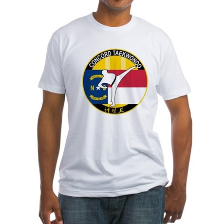 Foot Fist Taekwondo Fitted T-Shirt