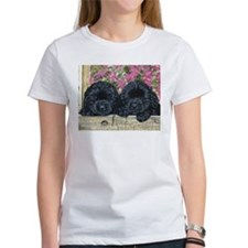 Cute Black newfoundland Tee