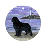 Newfoundland Dawn Patrol Ornament (Round)