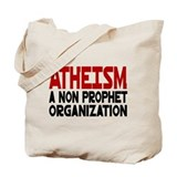 Atheism Tote Bag