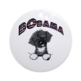 BObama 1st Dog PWD Ornament (Round)