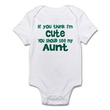 Think I'm Cute? Infant Bodysuit