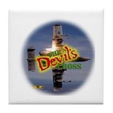 Devil's Cross Tile Coaster